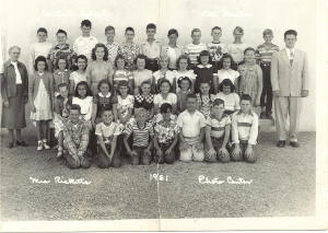 Central 5th Grade 1952 Mrs. Ricketts
