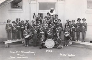 Central School Band 1952
